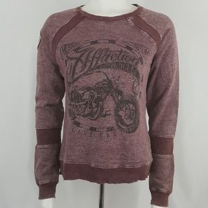 Affliction American Customs crew neck sweatshirt M